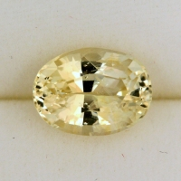 Natural Un-Heated Ceylon Yellow Sapphire