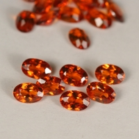 Red Orange Hessonite Garnet