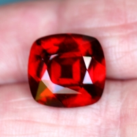 Red Hessonite Garnet